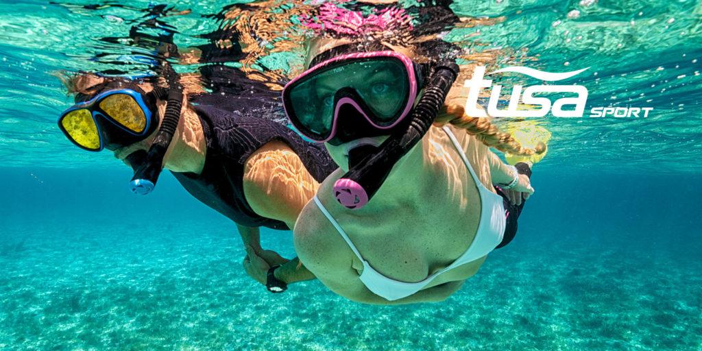 snorkel van Tusa bij duikwinkel den haag