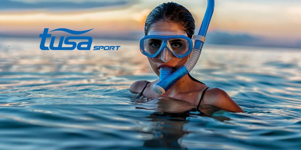duikbril en duikmasker voor snorkelen